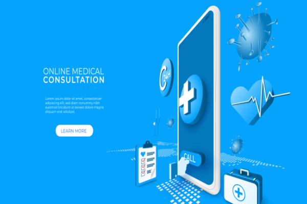 digital technology-online medical consultation with covid 19
