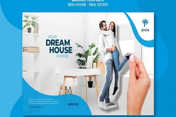 new real estate banner