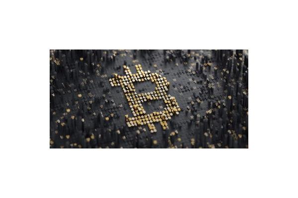 Bitcoin Gold Background